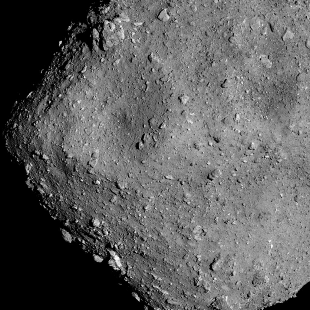 A stereoscopic image of Ryugu at high resolution | Topics