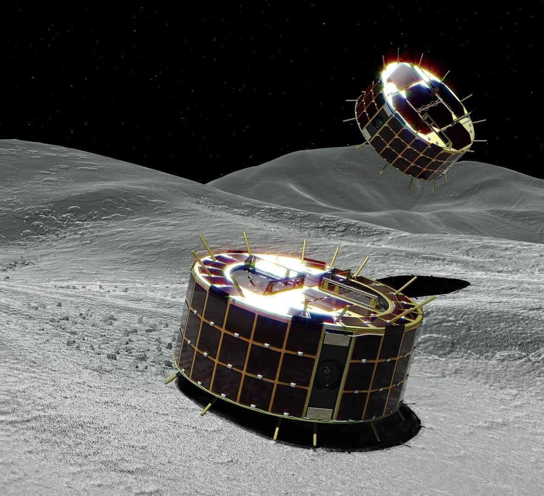 Sonda Hayabusa2 vypustila na povrch planetky Ryugu dva malé poskakující roboty